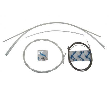 Campagnolo – Ergopower Gearkabel sæt Hvid komplet til for- og bagskifter – Ultra Shift