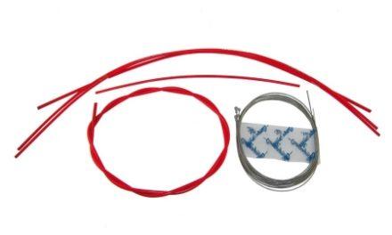 Campagnolo – Ergopower Gearkabel sæt Rød komplet til for- og bagskifter – Ultra Shift