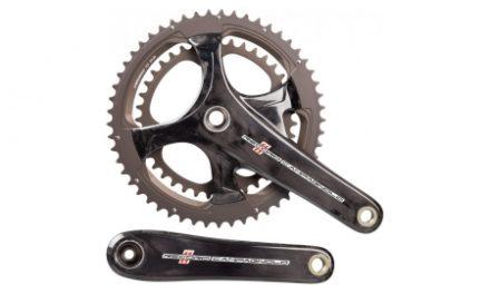 Campagnolo Record – Kranksæt 34/50 tands 2 x 11 gear – 172,5mm pedalarme