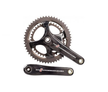 Campagnolo Record – Kranksæt 36/52 tands 2 x 11 gear – 172,5mm pedalarme