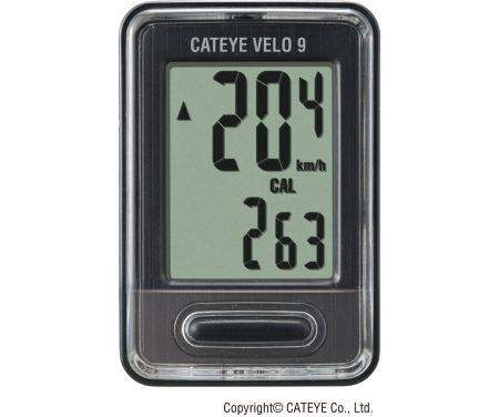 Cateye Computer Velo 9 Sort CC-VL820