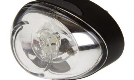 Cateye Forlygte Papid 1 – Lysstyrke 2000 Candela – USB-Opladelig – Sort