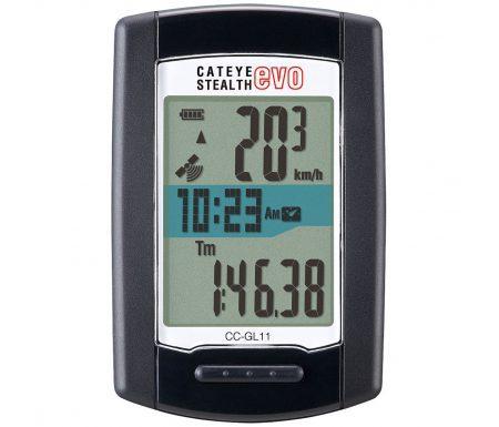 Cateye – Stealth EVO – Cykelcomputer CC-GL11 – GPS med 9 funktioner