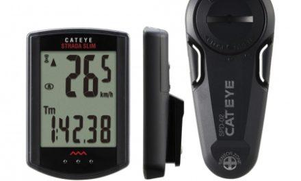 Cateye Strada Slim – Cykelcomputer – 8 funktioner – Sort