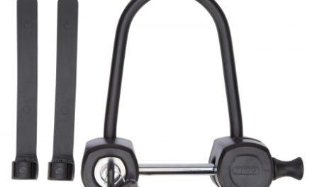 Click lås Abus 5000 XCL Protectus sort bred model