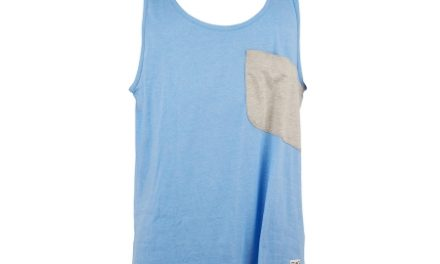 Colour Wear Cut – Tank top – Blå