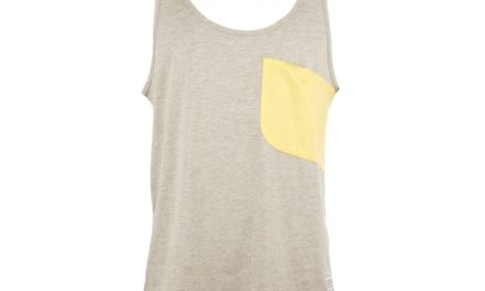 Colour Wear Cut – Tank top – Grå