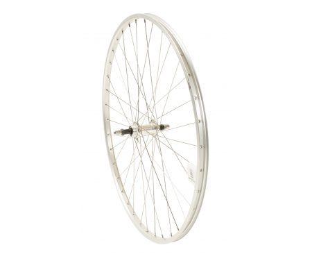 Connect citybike baghjul – 700c – Skruekrans – Ryde AS26SL fælg – Sølv