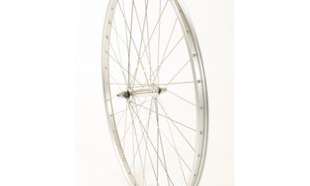 Connect citybike forhjul – 700c –  Ryde AS26SL fælg – Sølv