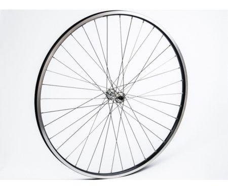 Connect citybike forhjul – 700c – Ryde ZAC19 fælg –  QR nav – Sort/sølv
