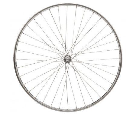 Connect forhjul – 28 x 1 1/2 – Rustfri stålfælg
