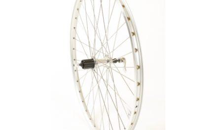 Connect MTB baghjul – 26 x 1.75 – 8/10 gear – Ryde ZAC 19  fælg – Sølv