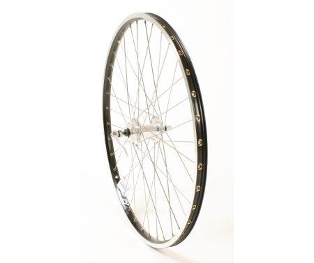 Connect MTB forhjul – 26 x1,75 – Disk 6 bolt montering – Sort/sølv