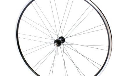 Connect racer forhjul – 700c – Ryde Flyer fælg – Sort/sølv