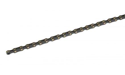 Connex kæde 10SB Black Edition til 10 udvendige gear. Samleled medfølger.