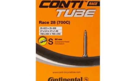 Continental Race 28 – Cykelslange – Str. 700×20-25c (20-25×622-630) – 60 mm racerventil