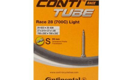 Continental Race 28 Light – Cykelslange – Str. 700×20-25c – 60 mm racerventil