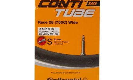 Continental Race 28 Wide – Cykelslange – Str. 700×25-32c – 42 mm racerventil