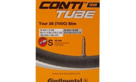 Continental Tour 28 Slim – Cykelslange – Str. 700×28-35c – 42 mm racerventil