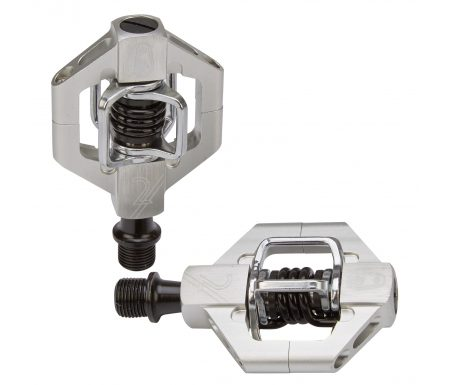 Crankbrothers Candy 2 – MTB pedal – Sølv