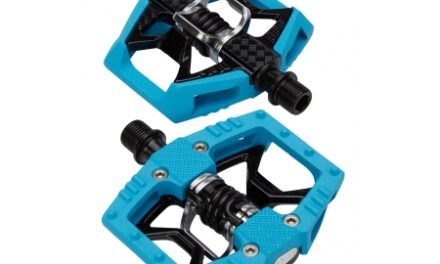 Crankbrothers Double Shot Limited Edition – MTB kombipedal – Blå/sort/sølv