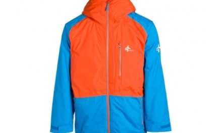 Cross Proctor Parka – Skijakke – Blå/orange