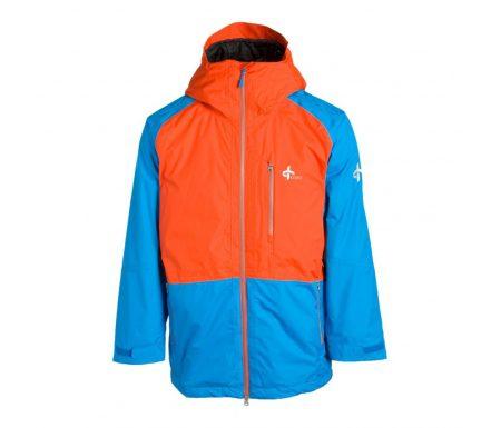 Cross Proctor Parka – Skijakke – Blå/orange