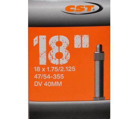 CST Slange – 18 x 1,75-2,125 – Almindelig ventil