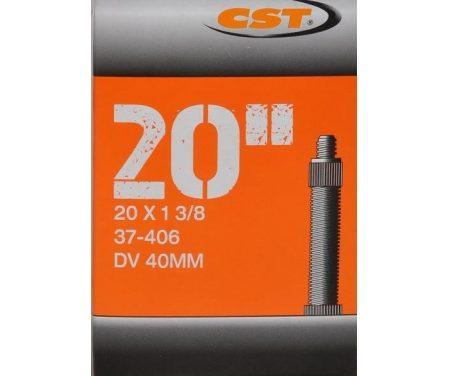 """CST Slange – 20 x 1 3/8"""" – Almindelig ventil"""