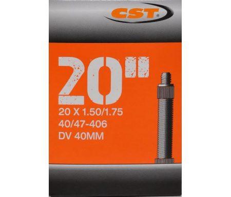 CST Slange – 20 x 1,50-1,75 – Almindelig ventil
