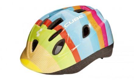 Cube Kids Bunt børnecykelhjelm – Multifarvet – Str. 48-52