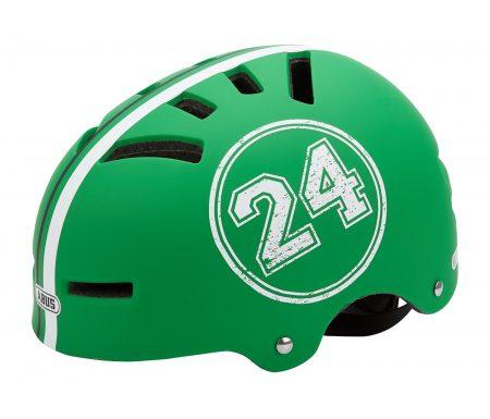 Cykel- og skaterhjelm Abus Aven-U Letvægt Grøn