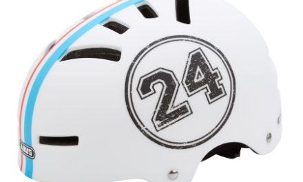 Cykel- og skaterhjelm Abus Aven-U Letvægt – Hvid