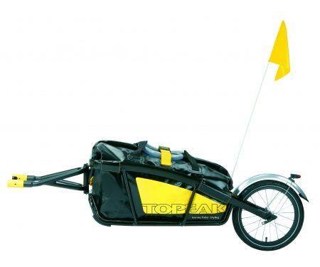 Cykelanhænger med et hjul Journey Alu m/Drybag