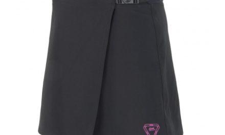 Cykelbukser/Nederdel med pude – Sensor Luna Skirt til damer – Sort