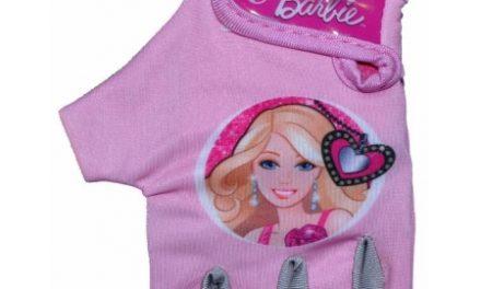 Cykelhandske til børn 4-7 år – Barbie Pink