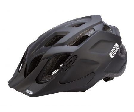 Cykelhjelm Abus MountX med LED lys Sort