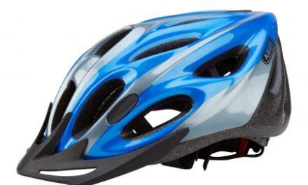 Cykelhjelm Abus Raxtor Zoom blå/sølv