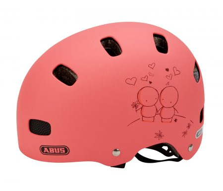 Cykelhjelm Abus Scraper Kid V.2 Str. 48-55 cm rosa