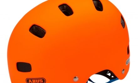 Cykelhjelm Abus Scraper Kid V.2 Str. 48-55 cm signal orange