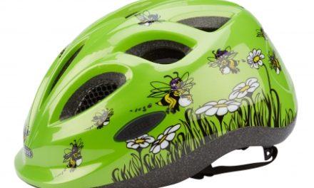 Cykelhjelm Abus Smiley grøn honey bee