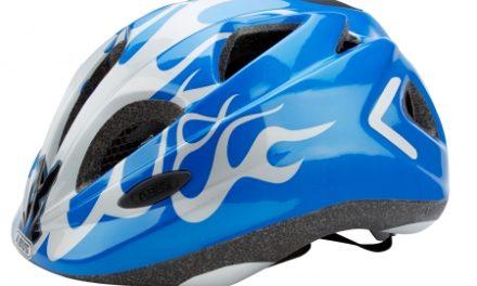 Cykelhjelm Abus Super Chilly blå/sølv