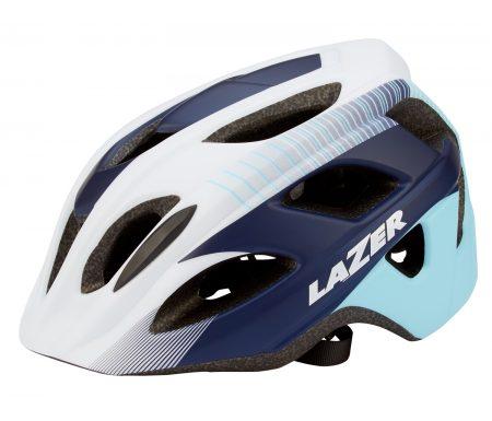 Cykelhjelm Lazer Beam – Hvid/blå