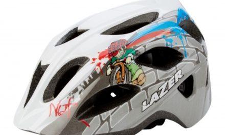 Cykelhjelm Lazer Nut'z Streetboy Str. 50-55 cm Hvid/Grå