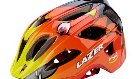 Cykelhjelm Lazer P'nut Str. 45-53 cm Gul/Rød/Sort Drage