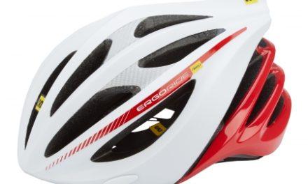 Cykelhjelm Mavic Plasma – Hvid/rød