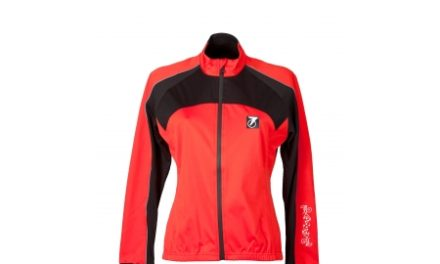 Cykeljakke Softshell Dame Rød Astral Model 128