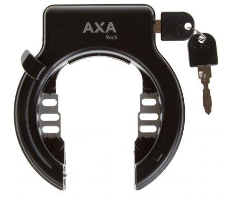 Cykellås AXA Rock sort