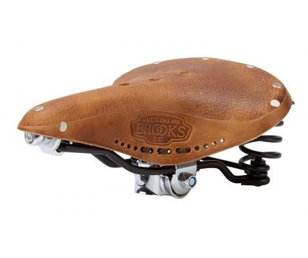 Cykelsadel Brooks B67 Retro Læder Herre Antik brun