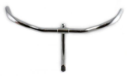 Cykelstyr Turist med styrstamme stål.